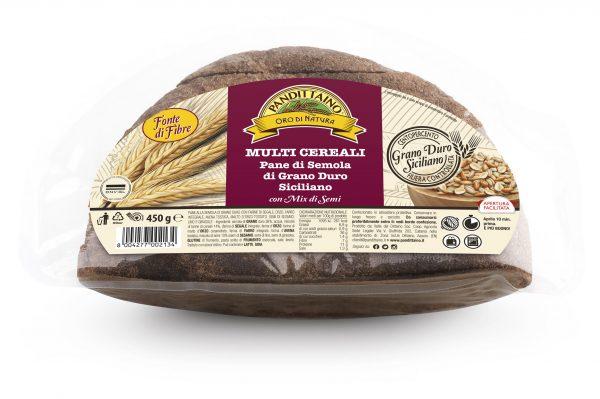 Pane di Semola di Grano duro Con mix di semi g 450